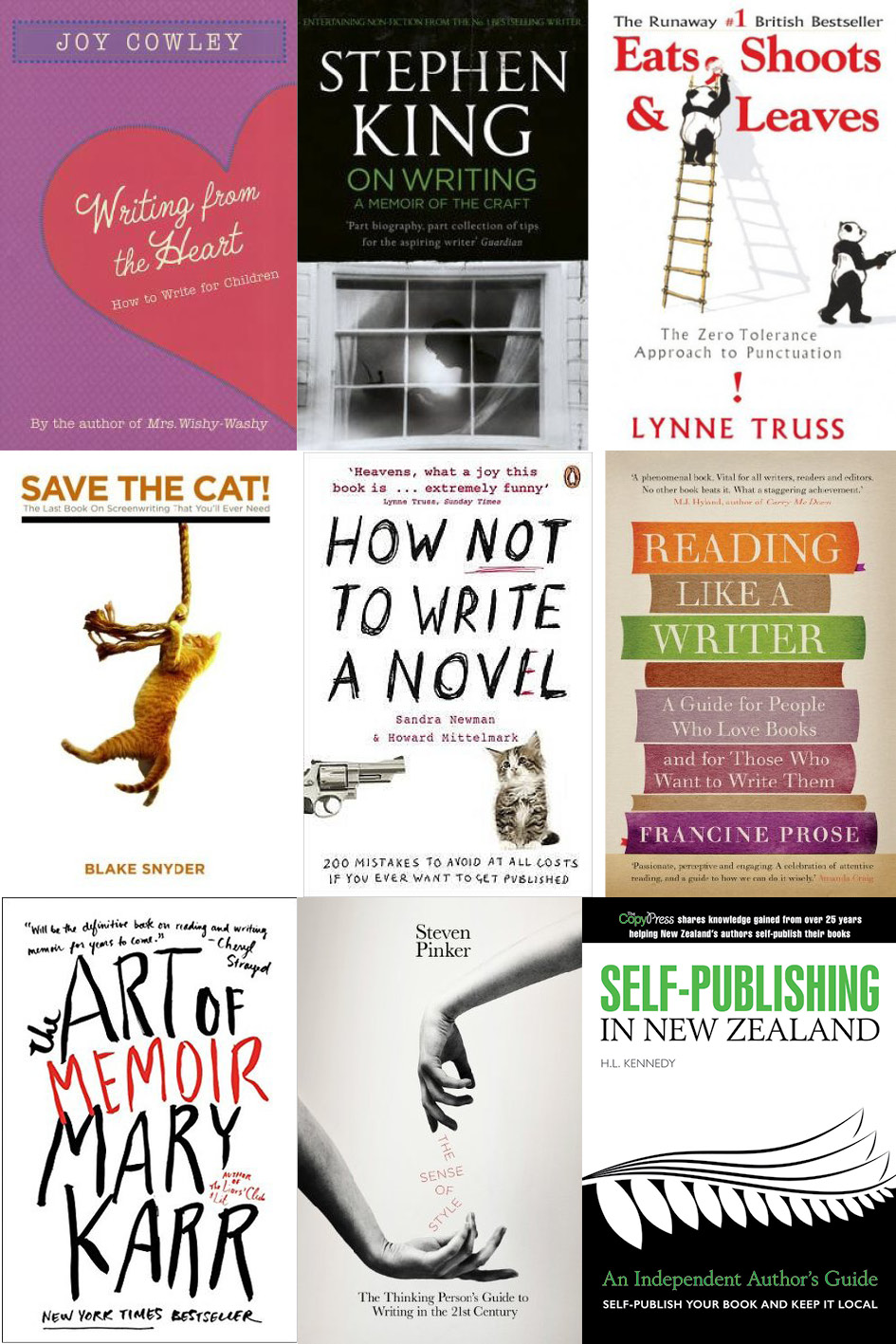 9 Books To Improve Your Writing
