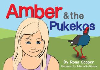 Amber And The Pukekos
