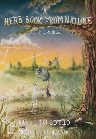 A Herb Book From Nature, For Children To Use