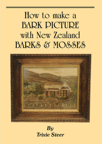 How To Make A Bark Picture With New Zealand Barks & Mosses