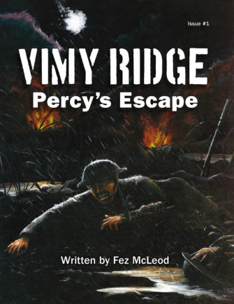 Vimy Ridge, Percy's Escape