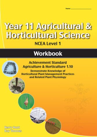 Year 11 Agriculture And Horticulture: Plant Management Practices 1.10