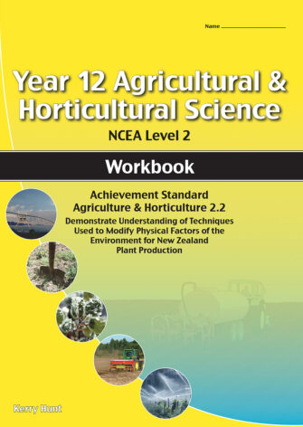 Year 12 Agriculture And Horticulture: Plant Production 2.2