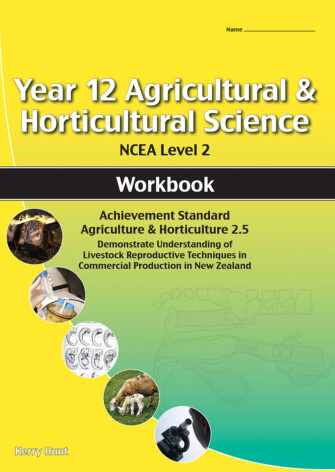 Year 12 Agriculture And Horticulture: Livestock Reproductive Technology 2.5