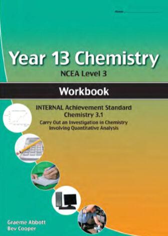 Year 13 Chemistry: Quantitative Workbook 3.1