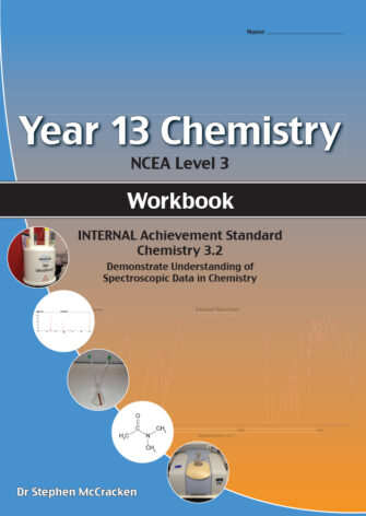 Year 13 Chemistry: Spectroscopy Workbook 3.2