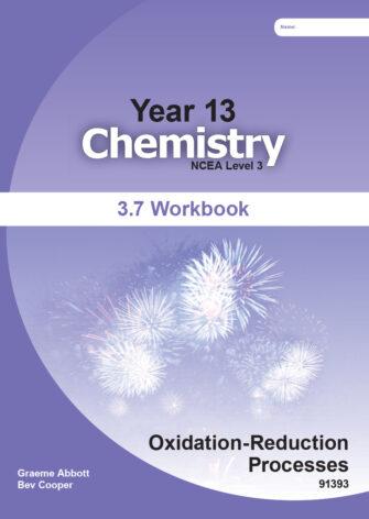 Year 13 Chemistry: Redox Workbook 3.7