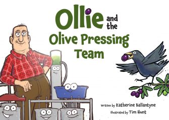 Ollie And The Olive Pressing Team