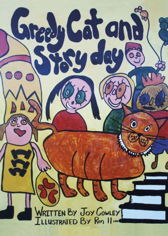 Greedy Cat And Story Day